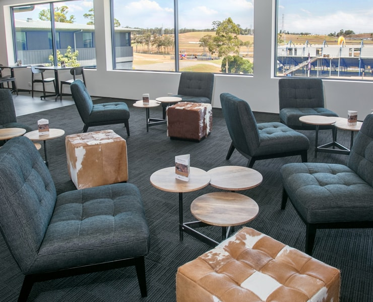 Alpha Hotel Eastern Creek - Club Lounge for Meetings and Functions