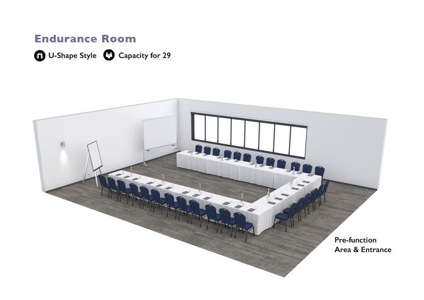 Alpha Hotel Eastern Creek - Endurance Room - U-Shape Style