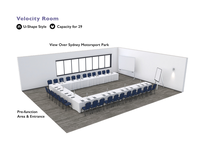 Alpha Hotel Eastern Creek - Velocity Room - U-Shape Style